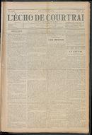 L'echo De Courtrai 1910-12-22