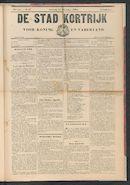 De Stad Kortrijk 1905-11-11