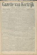 Gazette van Kortrijk 1916-11-11