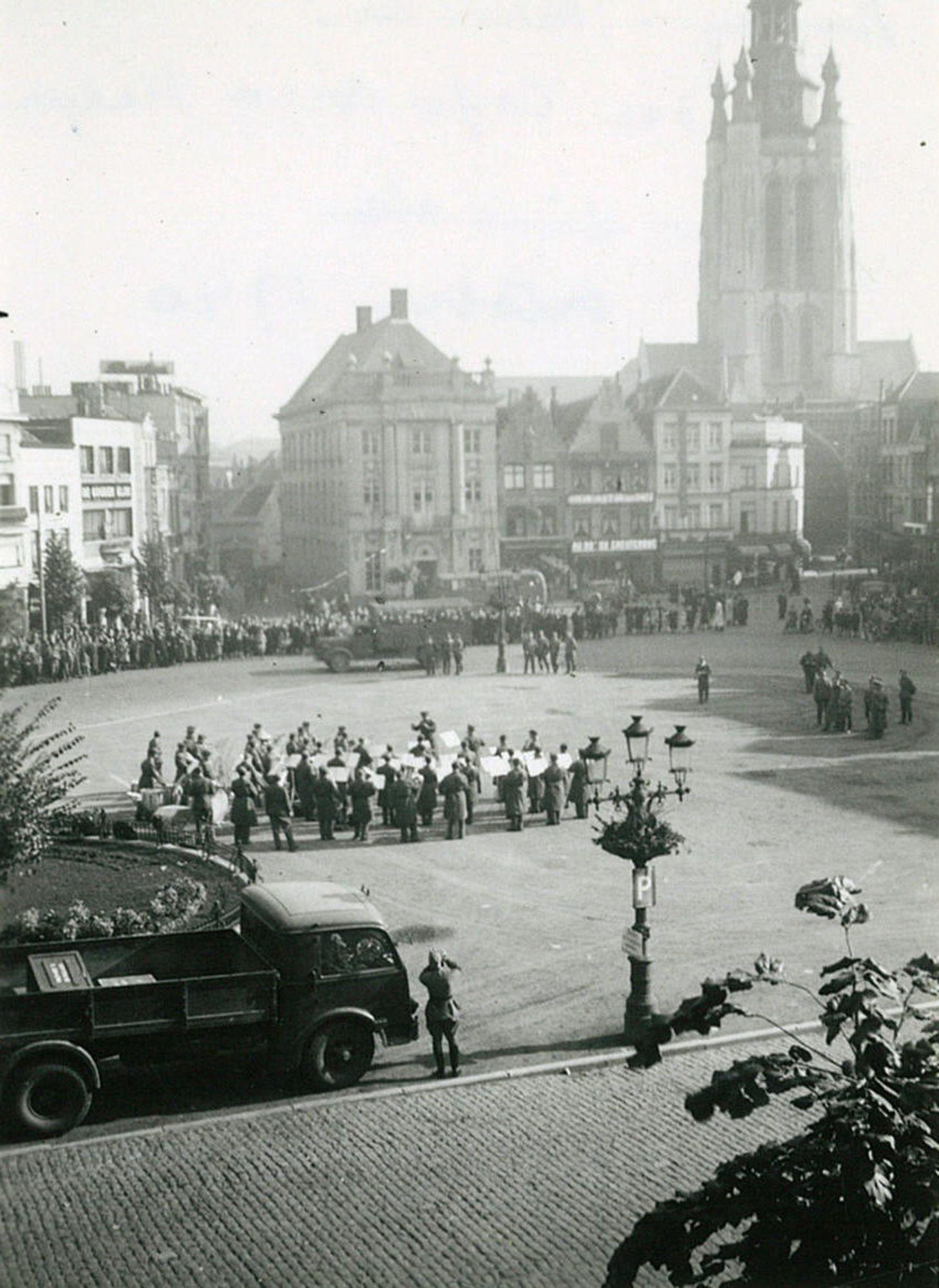 Italianen in Kortrijk tijdens W0 II