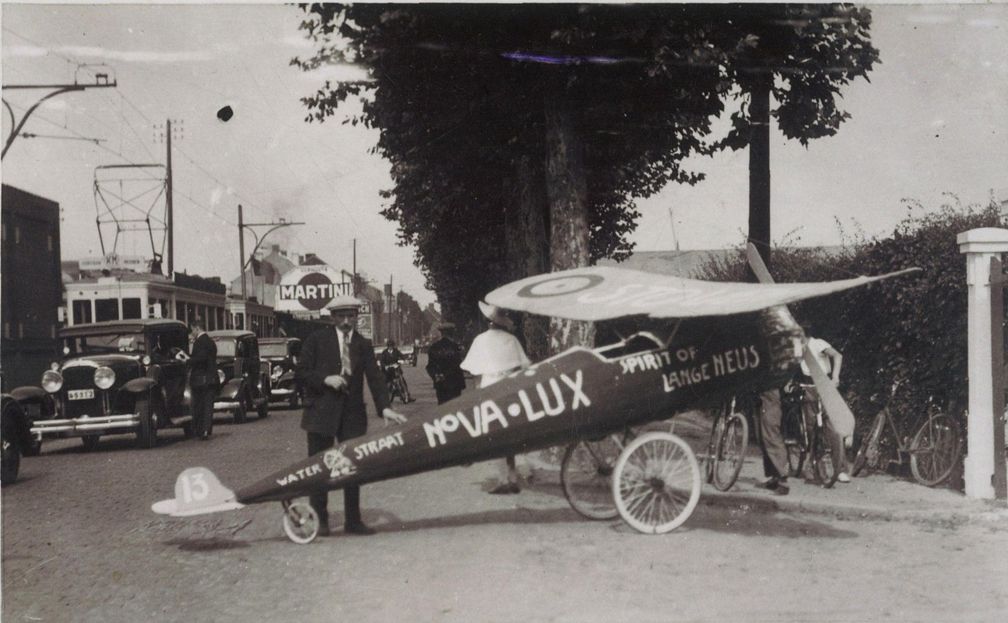 Wijkfeesten in Overleie in 1935
