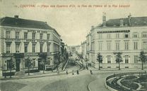 Stationsplein place des eperons d'Or