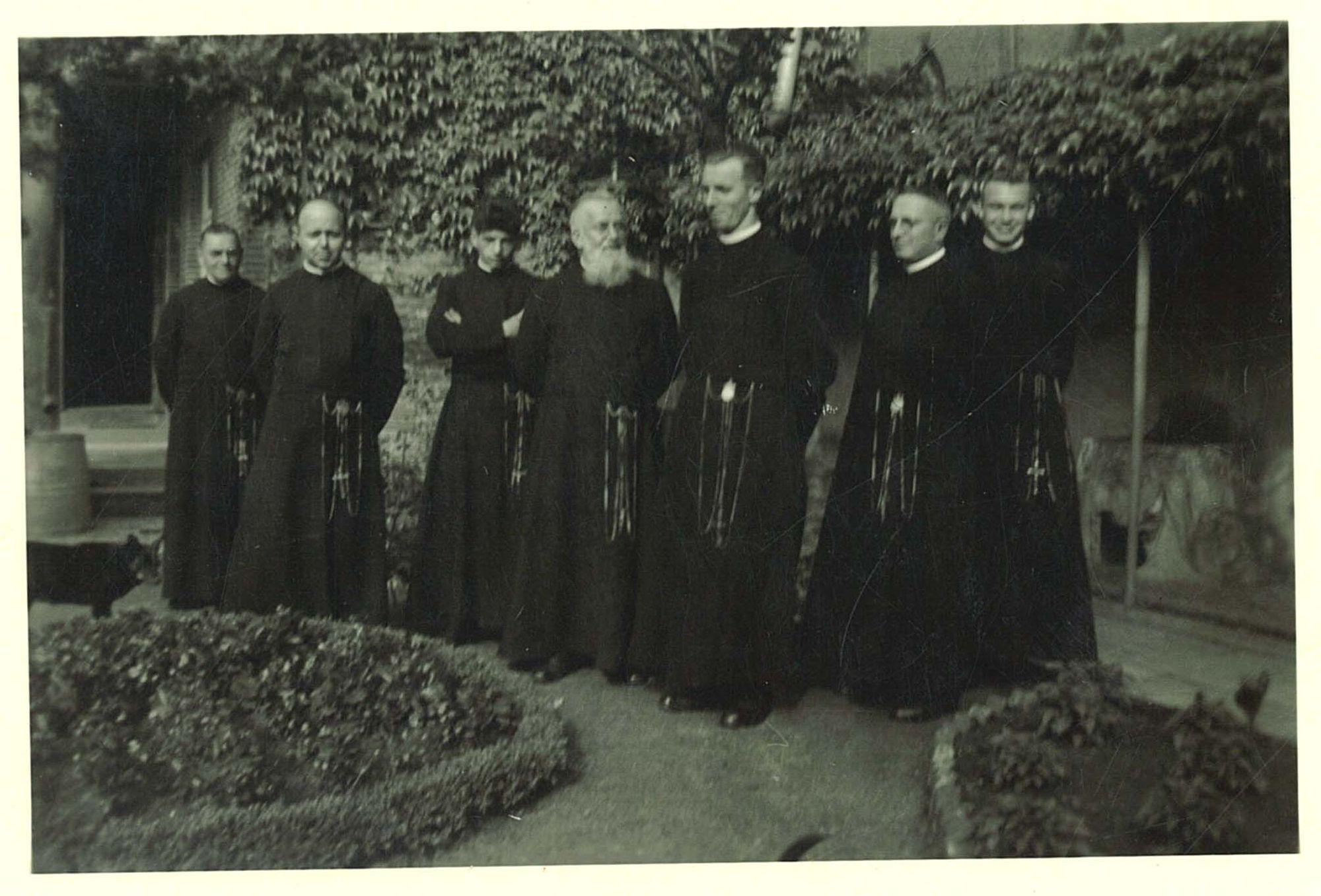 Groepsfoto Broederschool Overleie 1953-54
