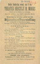 Paasfoor 1897: Theater hercule M. Moors