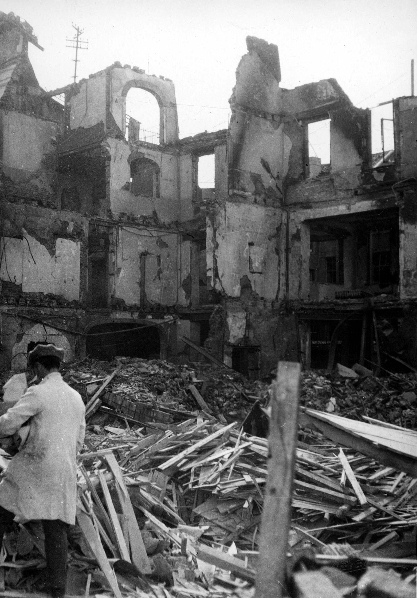 Bombardementen 1944