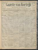Gazette Van Kortrijk 1909-03-14