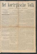 Het Kortrijksche Volk 1907-03-10