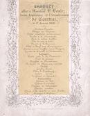 Banket ter ere van de Heer B. Boulez 1858