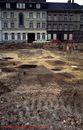 Afgebroken paterhuis Houtmarkt1988.