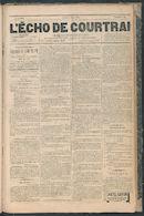 L'echo De Courtrai 1887-06-02 p1