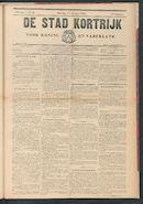 De Stad Kortrijk 1905-10-14