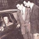 Lucien Demuynck met vader en broer