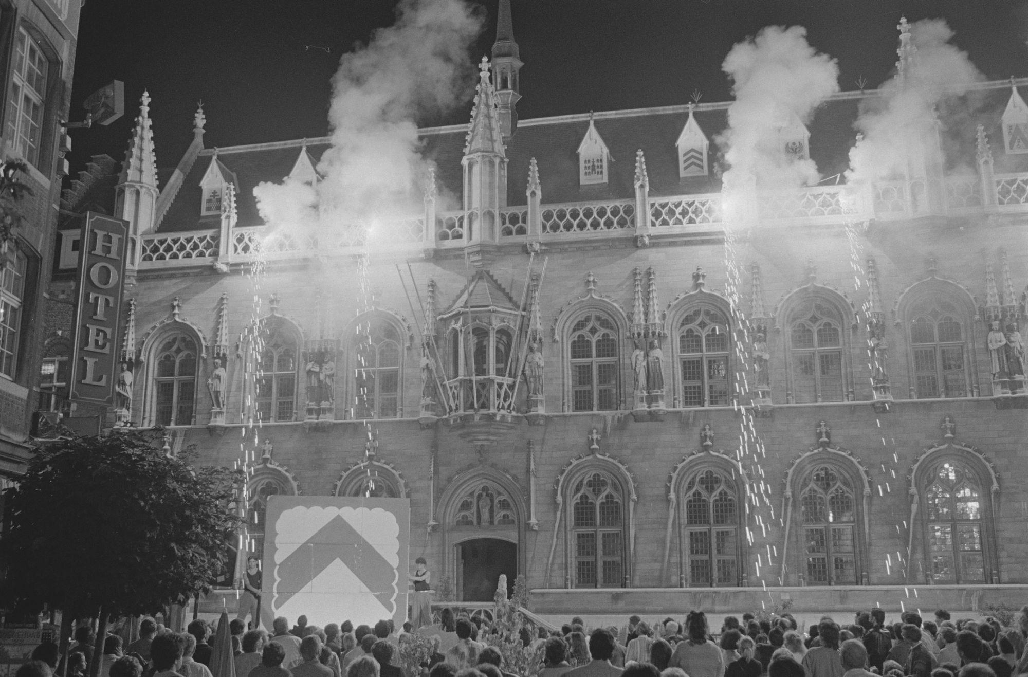 Vuurwerk tijdens de 9de Sinksenfeesten