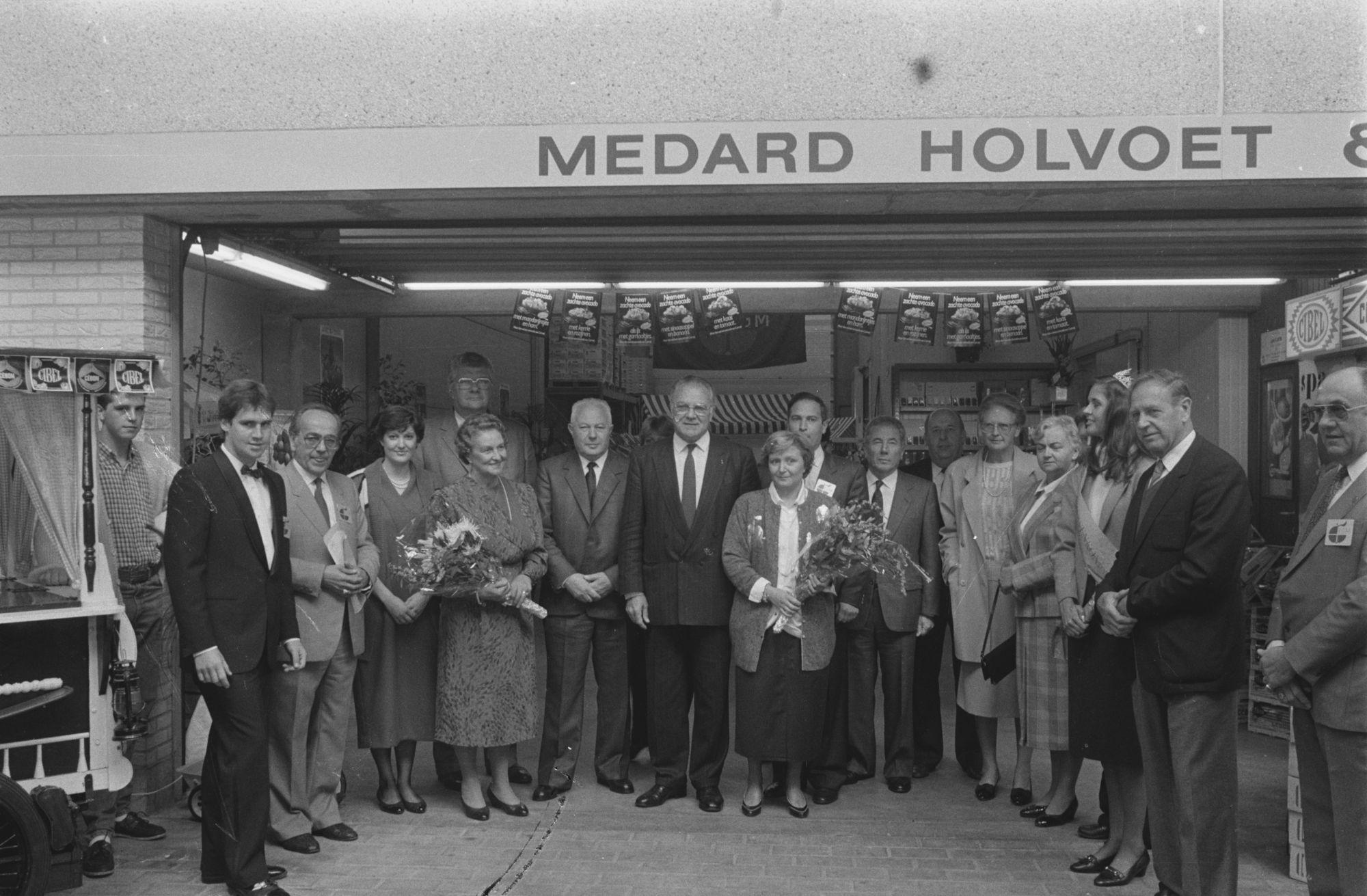 Inhuldiging groothandelsmarkt 1980