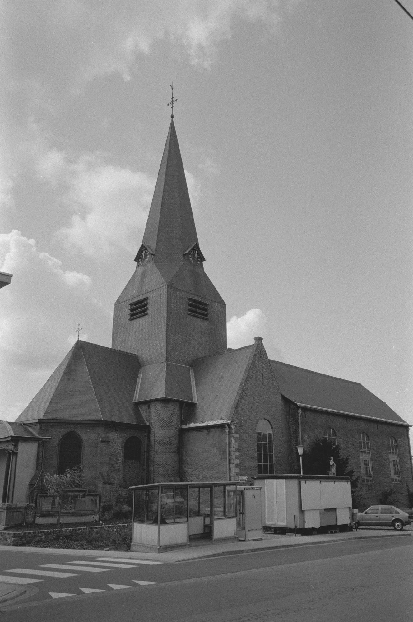 Stadsbeelden: Sint-Amanduskerk in Bellegem