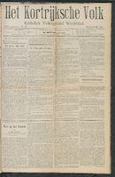 Het Kortrijksche Volk 1909-05-09
