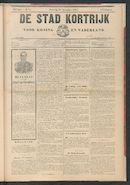 De Stad Kortrijk 1905-11-25