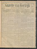 Gazette Van Kortrijk 1912-02-01