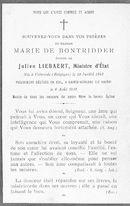 Marie De Bontridder