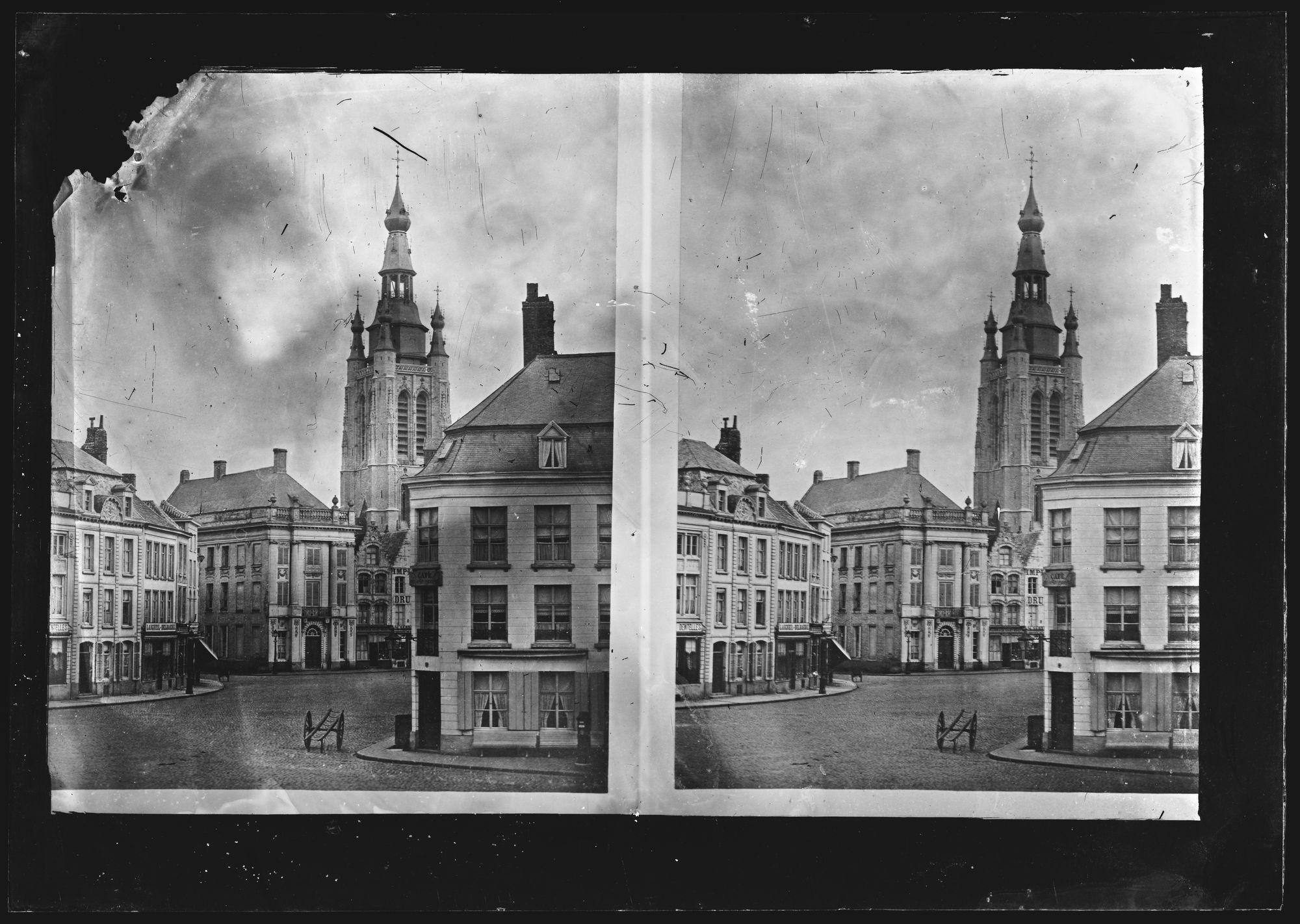 Grote Markt voor 1899