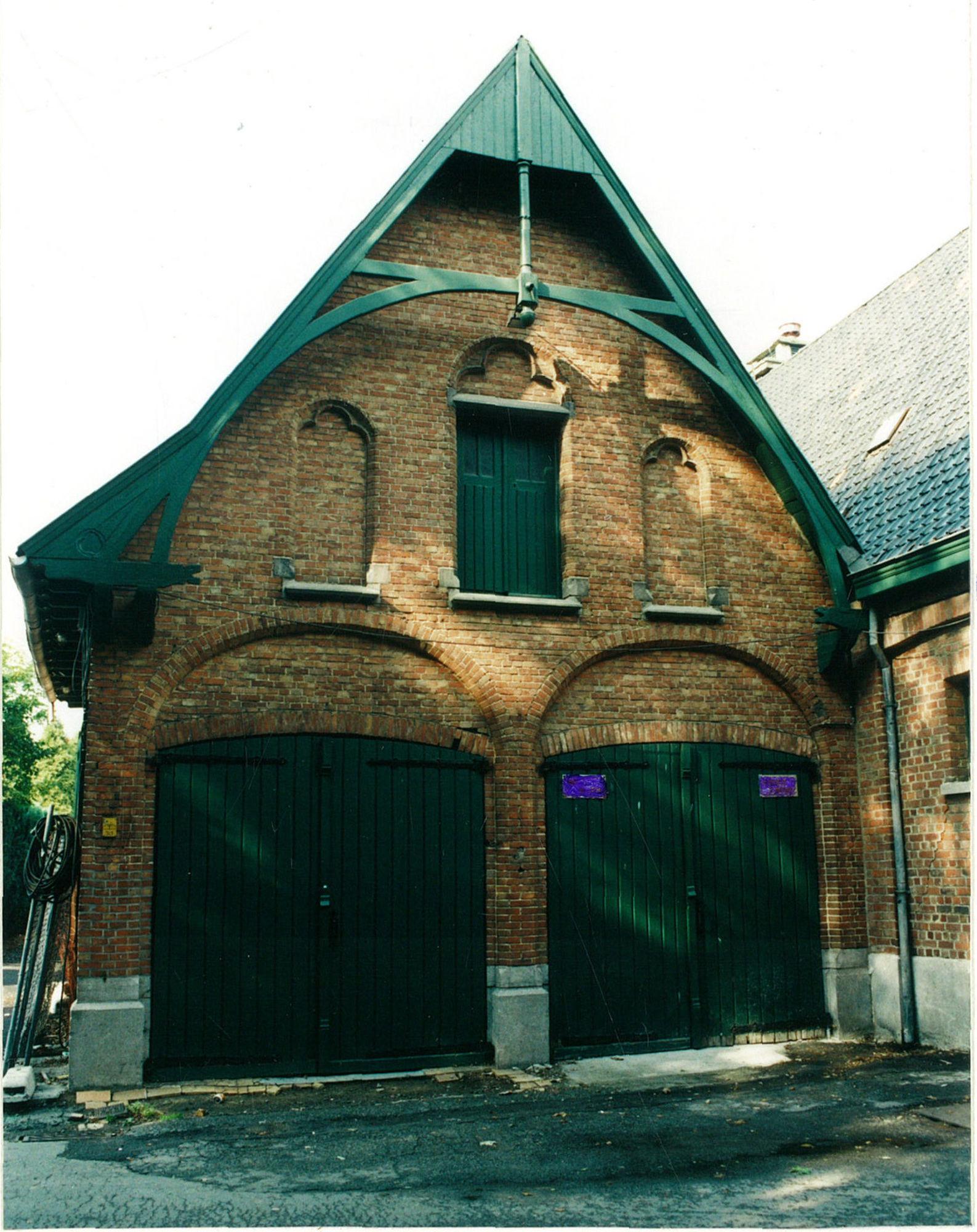 Koetshuis van kasteel Blommeghem