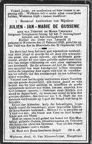 Julien-Jan-Marie De Gusseme