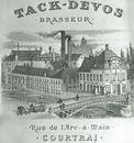 Reclametekening van de brouwerij Tack-Devos