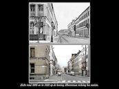 Koning Albertstraat ca 1896 en  2010