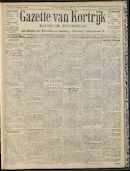 Gazette Van Kortrijk 1909-02-07