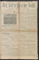 Het Kortrijksche Volk 1914-09-06 p1