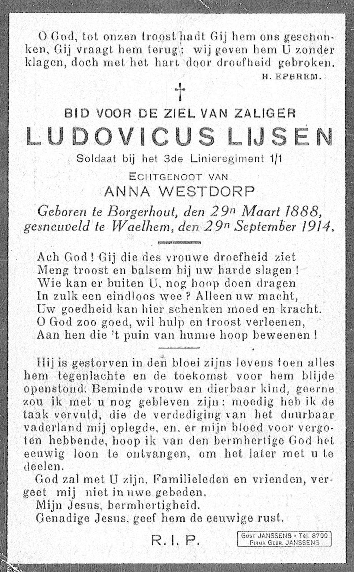 Ludovicus Lijsen