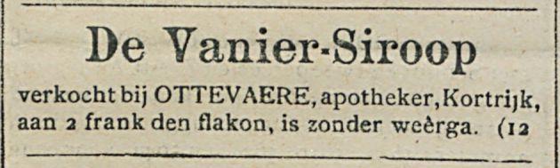 De Vanier-Siroop