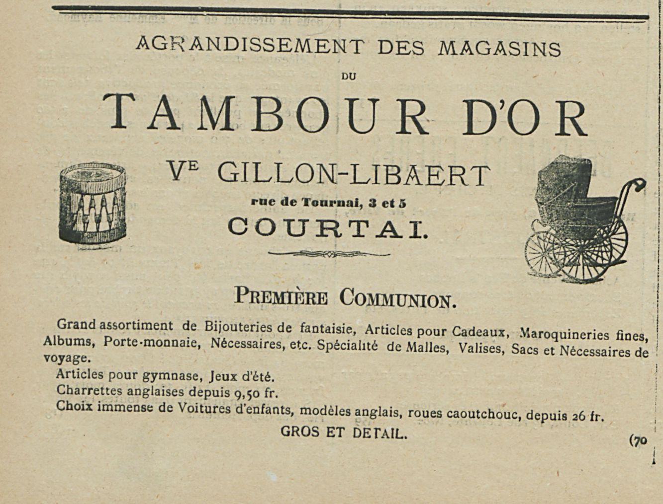TAMBOUR DOR