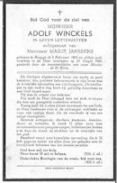 Adolf Winckels