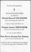 Octaaf-Gerard Van Damme