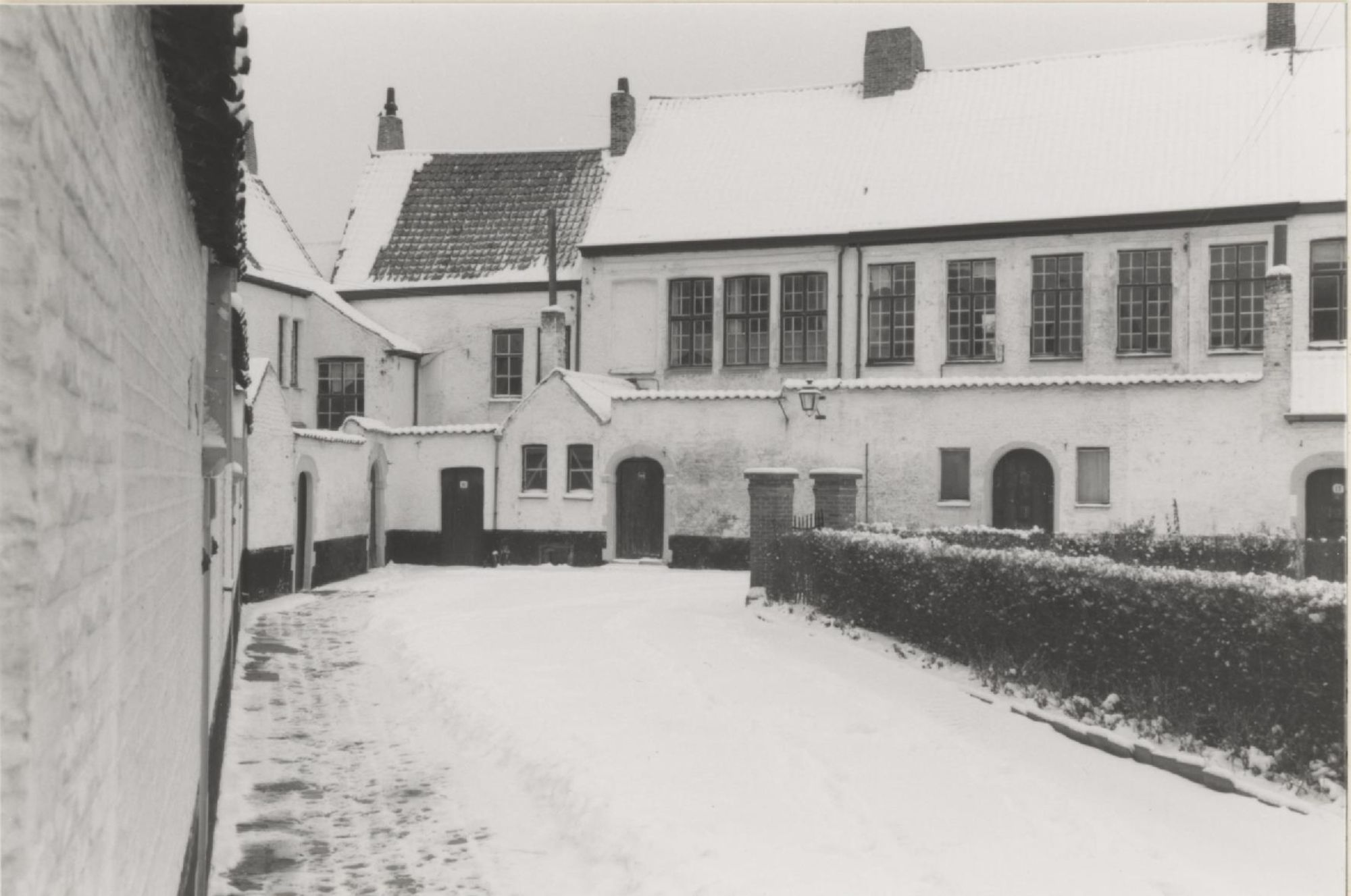 Winter in hetb begijnhof