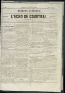 L'echo De Courtrai 1856-03-23