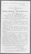 Henri Albert Vandenheede