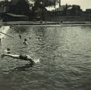 Abdijkaai - De oude zwemkom