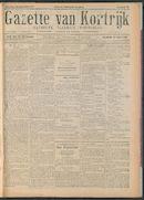 Gazette Van Kortrijk 1917-09-29