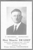 Maurits De Loof