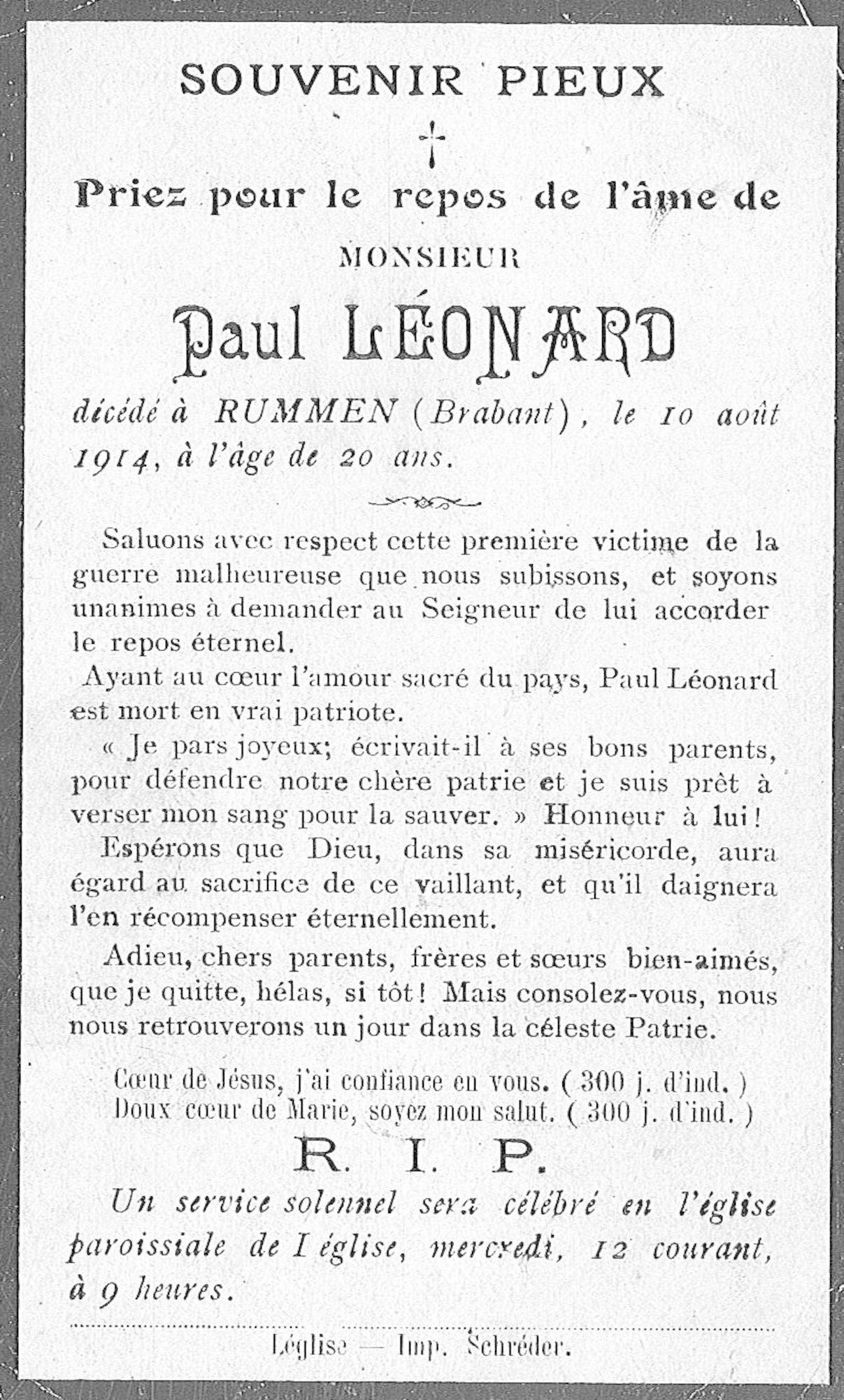 Paul Léonard