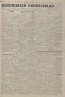 Kortrijksch Handelsblad 2 mei 1945 Nr35 p1