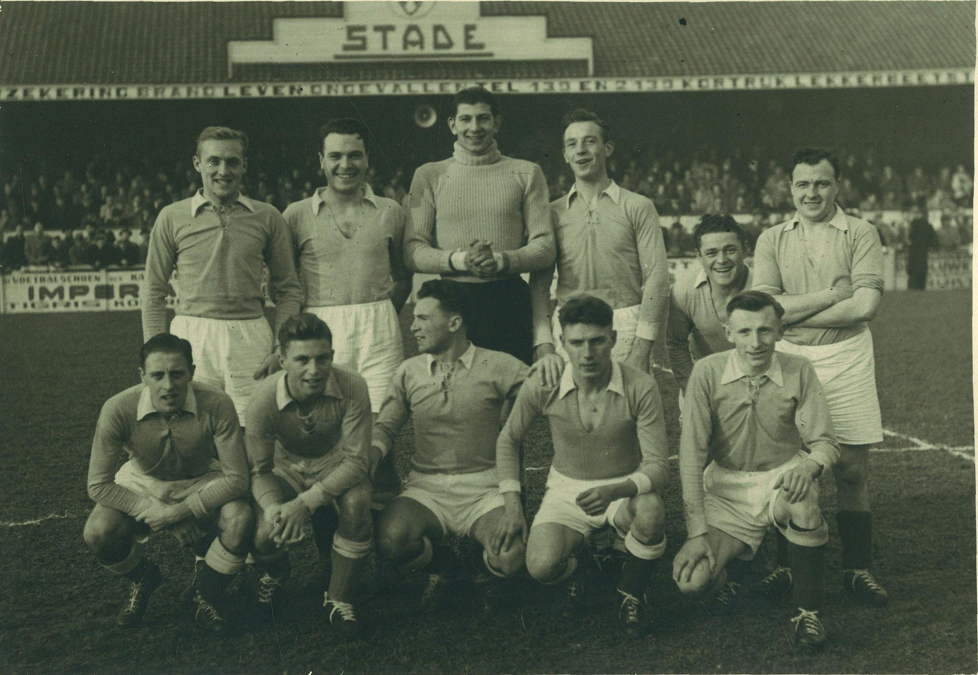 Stade Kortrijk in 1947