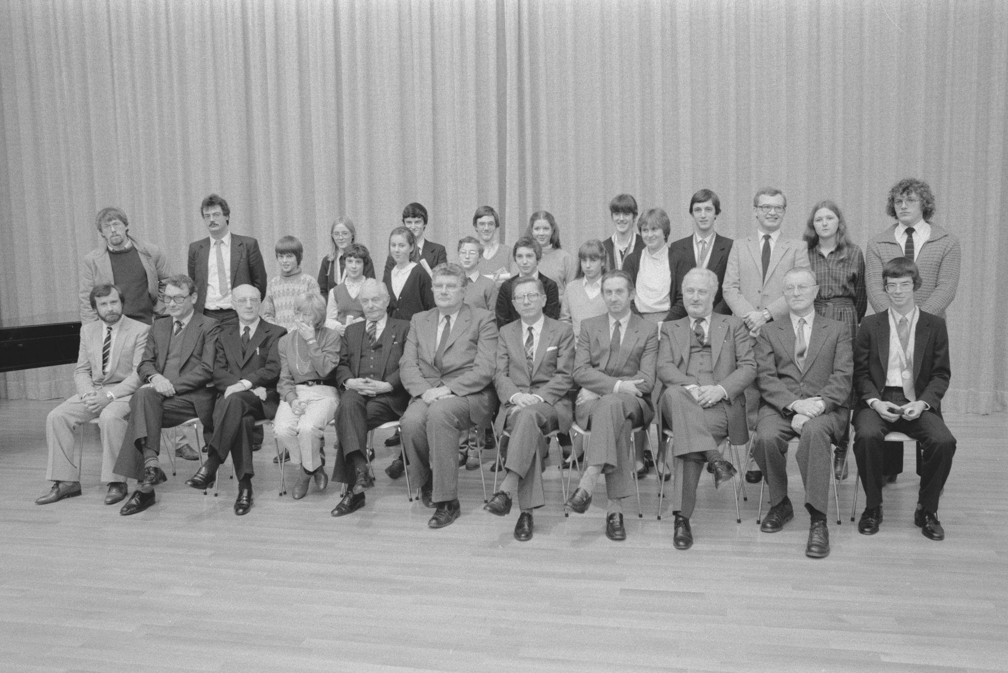 Laureaten van de muziekacademie