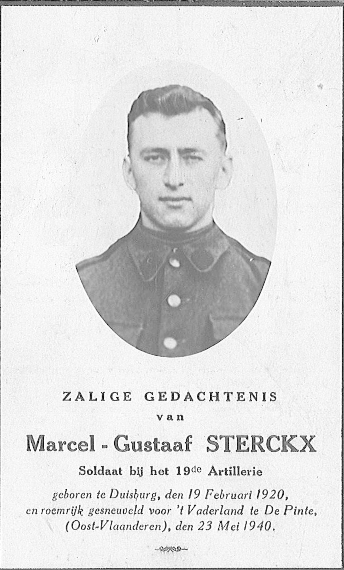Marcel-Gustaaf Sterckx