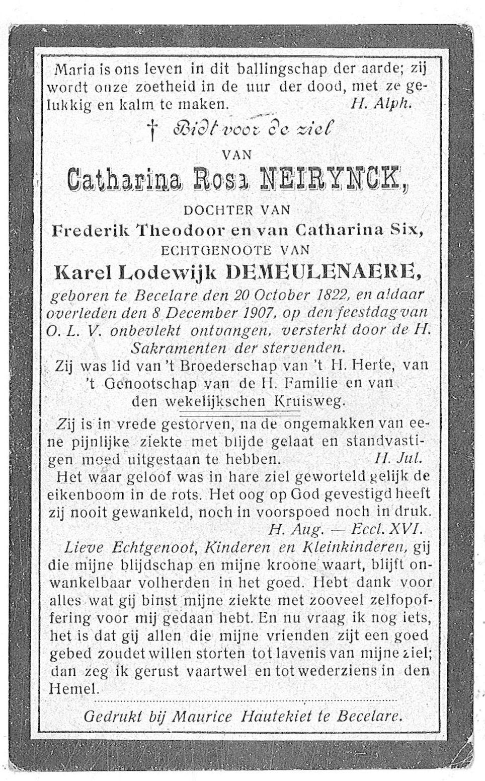 Catharina-Rosa Neirynck