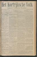 Het Kortrijksche Volk 1911-10-01