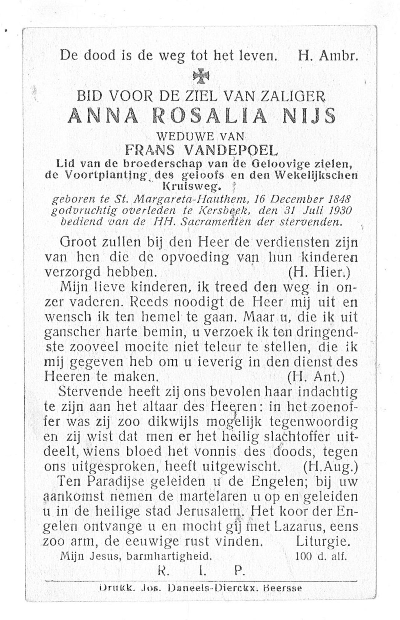 Anna-Rosalia Nijs