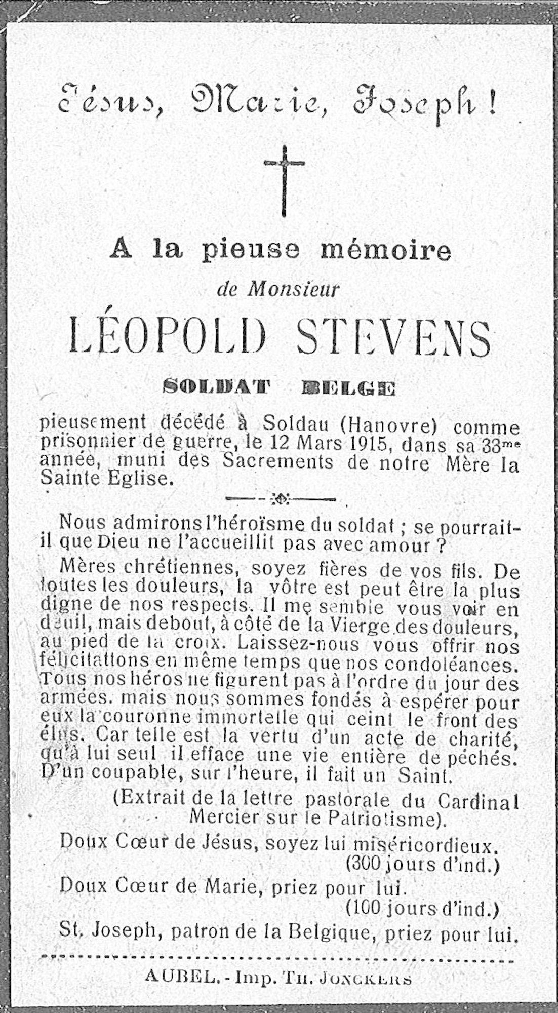 Léopold Stevens